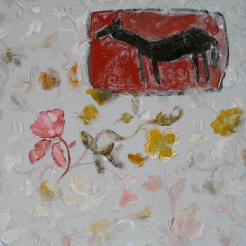 Le cheval et la tulipe sauvage